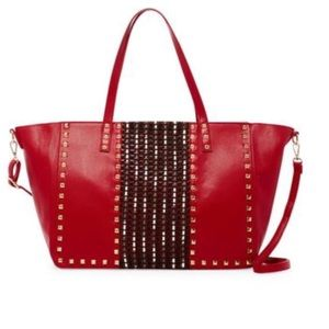 🌟Now Available🌟Red Oversized Tote Bag